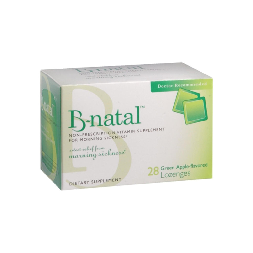 B-natal Green Apple Flavored Lozenges 28 Each