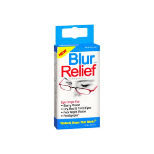 Blur Relief Homeopathic Eye Drops 0.50 oz
