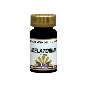 Windmill Melatonin 1 mg Tablets 100 Tablets