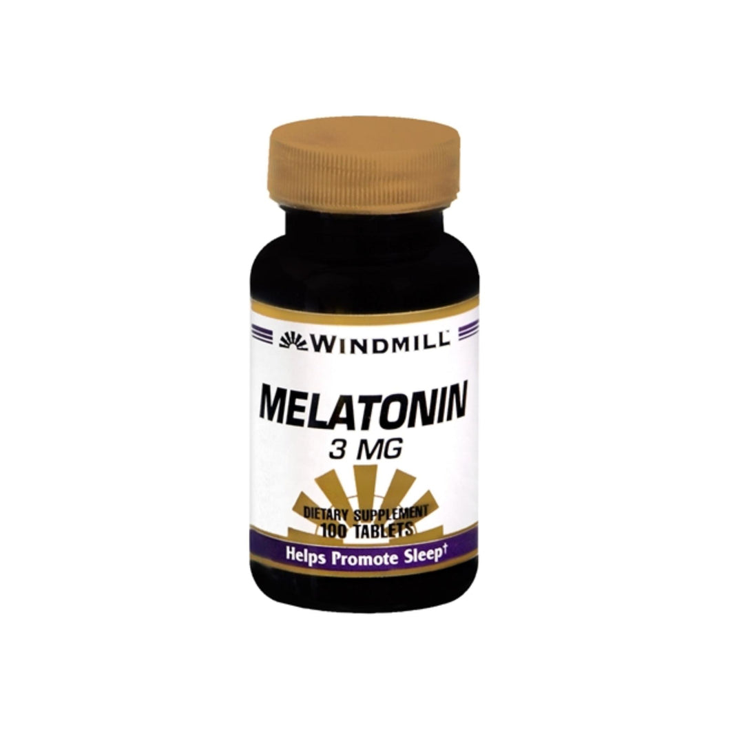 Windmill Melatonin 3 mg Tablets 100 Tablets