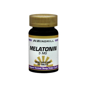 Windmill Melatonin 5 mg Tablets 60 Tablets