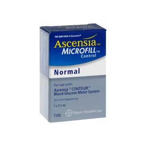 Ascensia MICROFILL Blood Glucose Control Solution Normal 2.50 mL