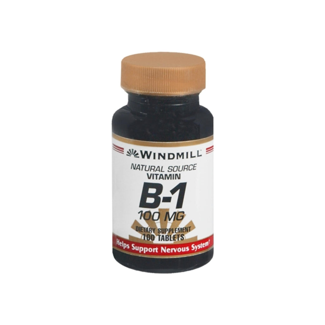 Windmill Vitamin B-1 100 mg Tablets 100 Tablets