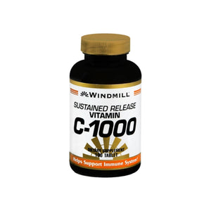 Windmill Vitamin C-1000 Tablets Sustained Release 100 Tablets