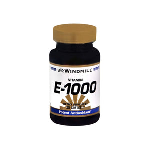 Windmill Vitamin E-1000 Softgels 30 Soft Gels