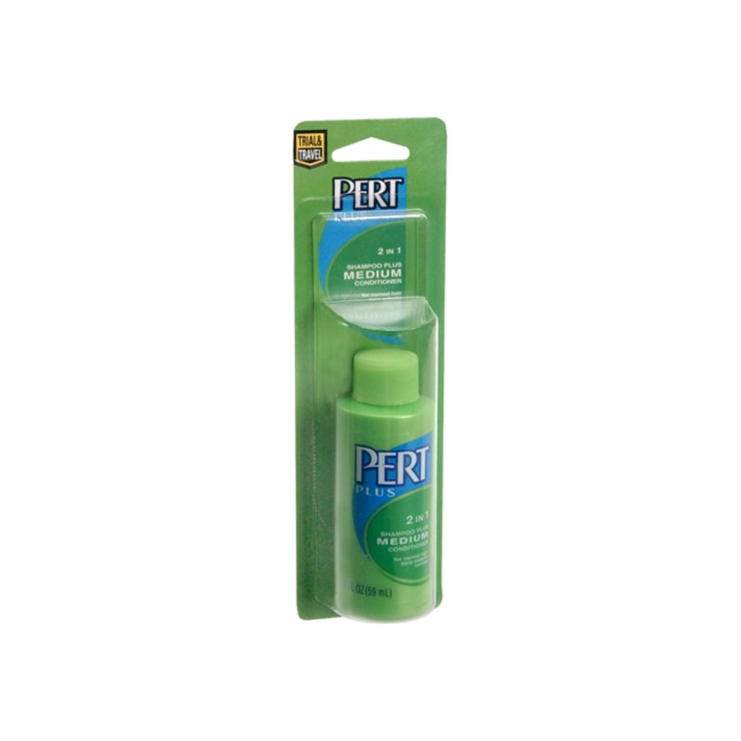 Lil' Necessities Pert Plus 2 in 1 Shampoo and Conditioner 1.70 oz