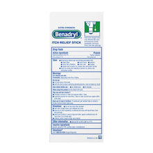 Load image into Gallery viewer, Benadryl Itch Relief Stick 0.47 oz