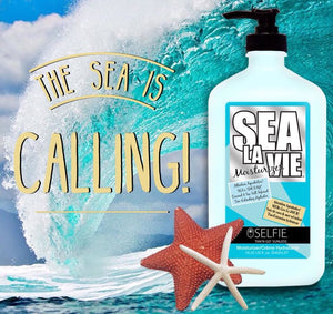 Selfie Sea La Vie - After Sun Care Lotion & Moisturizer, Hydrating, Tan Extending, Reduce Inflamation and Skin Redness, 18.25 oz