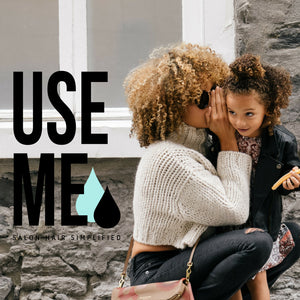 Use Me Hair Daily Vitamist + Biotin Step 3, 6-in-1 Lightweight Detangler & Moisturizer Mist For Frizzy Damaged Wet/Dry Hair; UV Protection Vitamin C & Agave; Sulfate Paraben Gluten & Cruelty Free, 6 oz