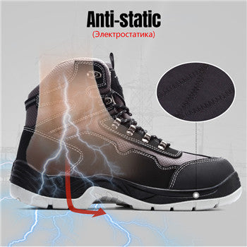 steel toe boots for work men