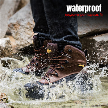 steel toe boot waterproof