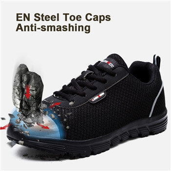 steel toe shoes