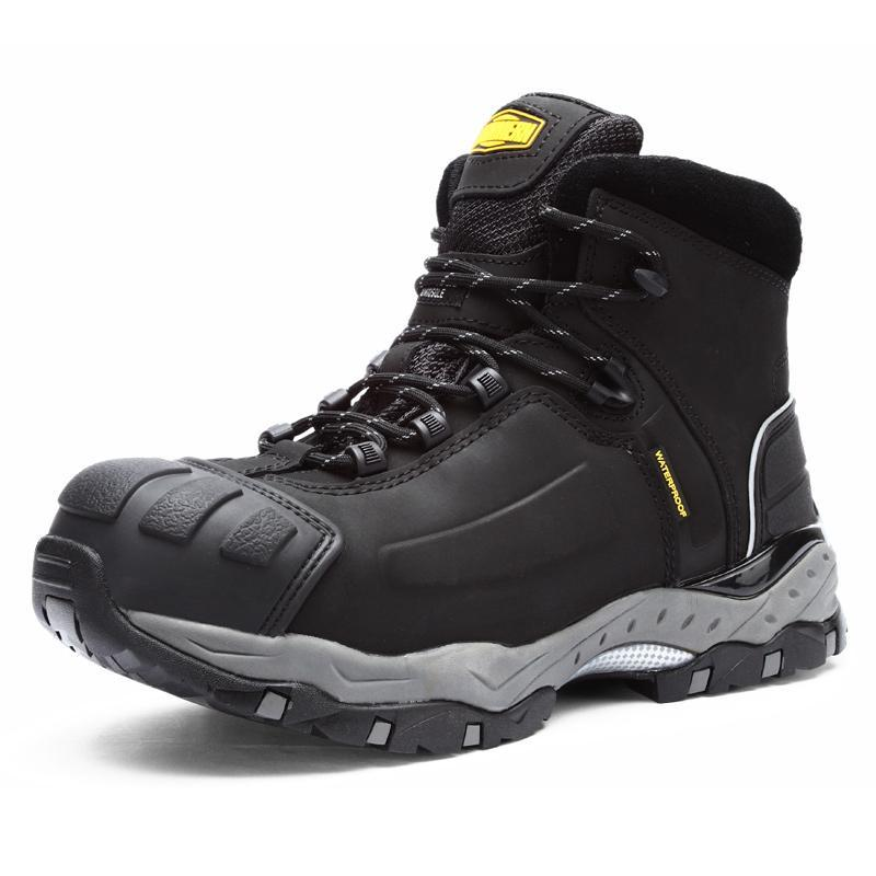 LARNMERN Steel Toe Safety Construction Shoes Breathable Indestructible Boots