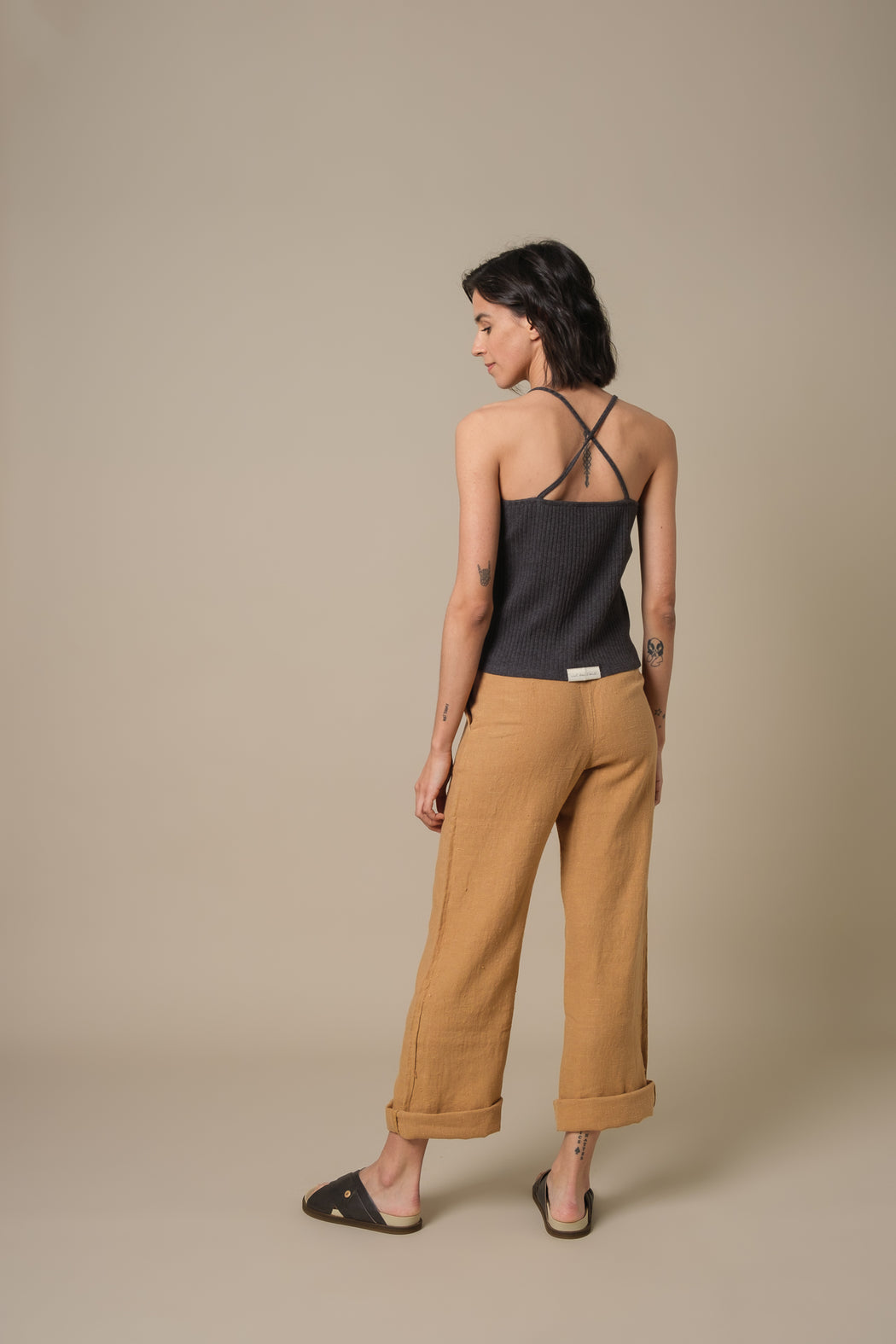 Trousers Sandrine Honey