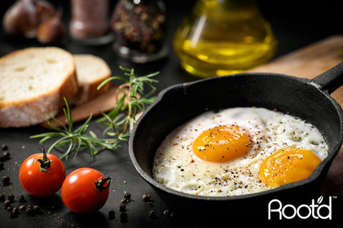 Egg Yolks Source of Vitamin d - Root'd Multivitamins