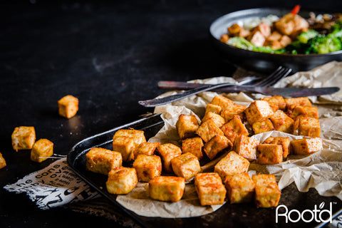 Tofu has 20% of your dv of Vitamin D - Root'd Vitamins