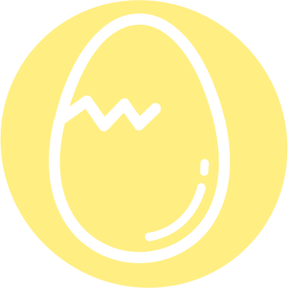 Root'd Best Sources of Vitamin B7 egg Icon