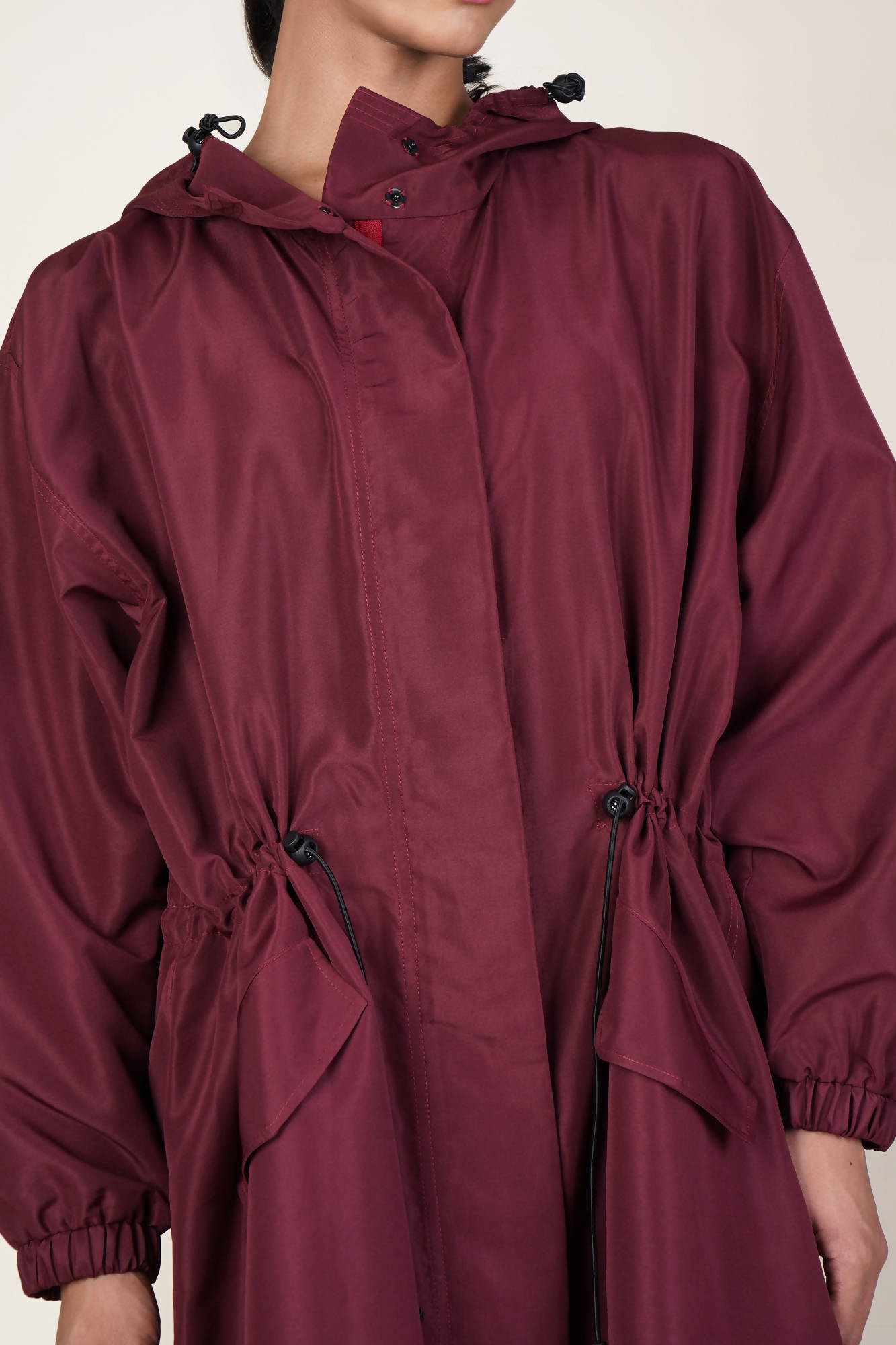 Protective Outerwear Design 3 in Maroon