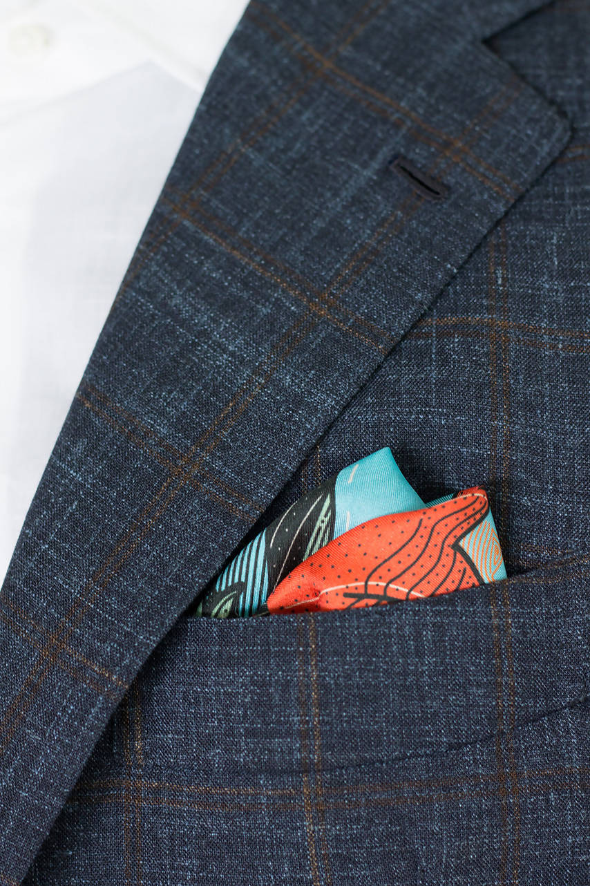 Butanding Pocket Square & Scarf