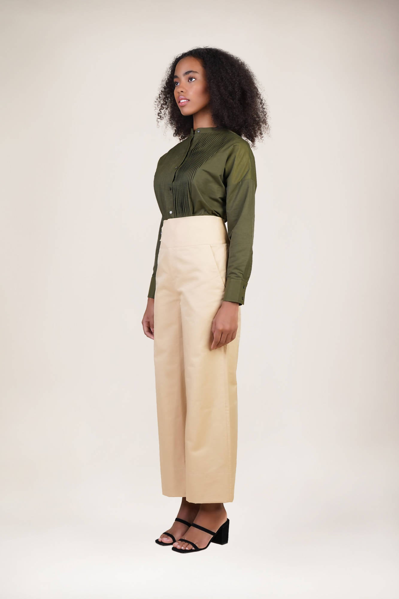 Arezzo Top in Olive