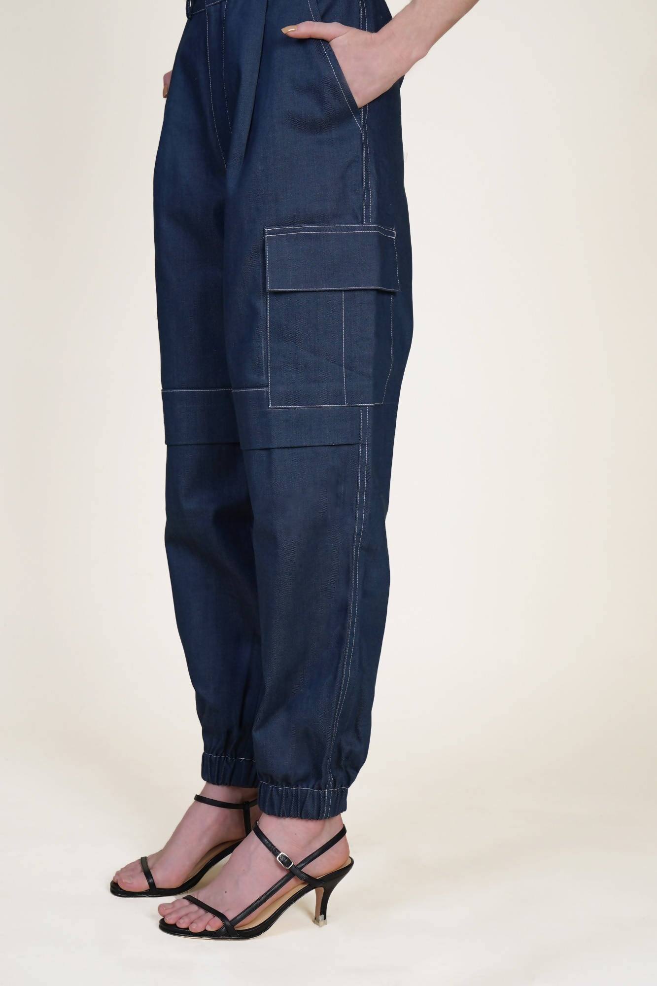 Cargo Pants in Denim