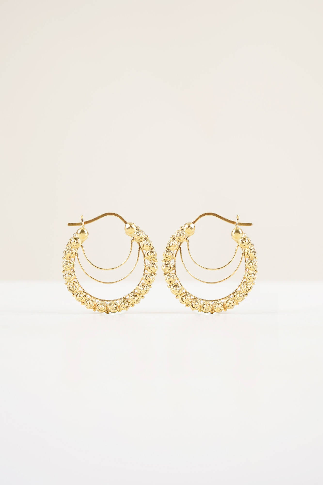 Alyssa Creolla Hoop Earrings