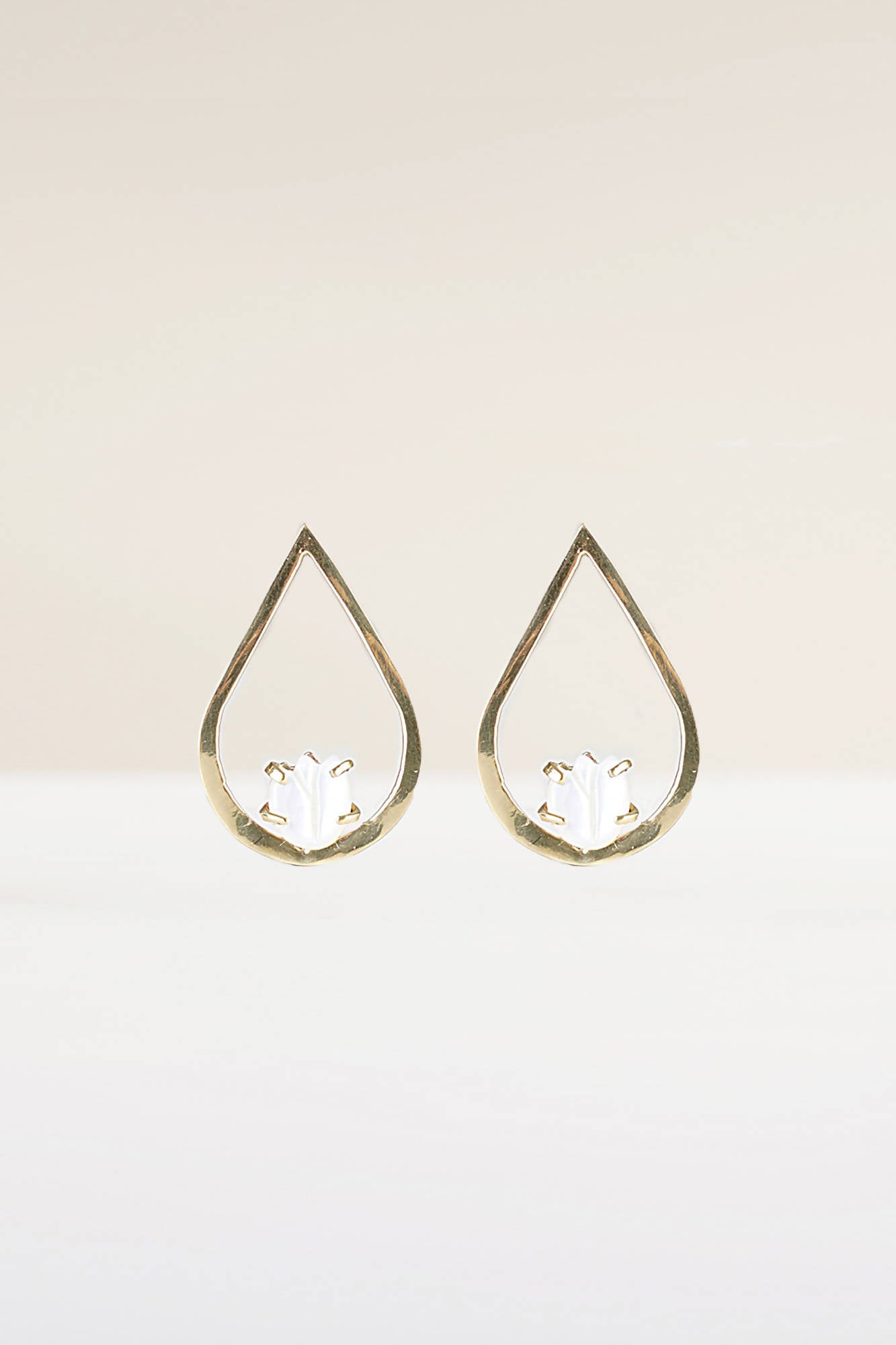 Lucienne Earrings in Gold
