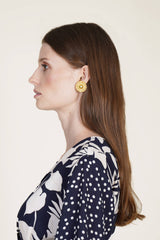 Julia Rosita Stud Earrings