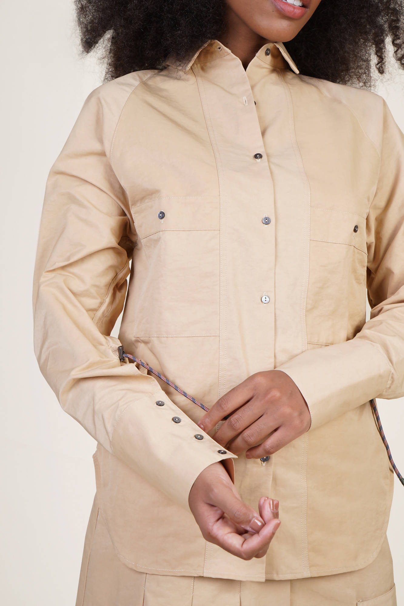 Windsor Shirt in Khaki