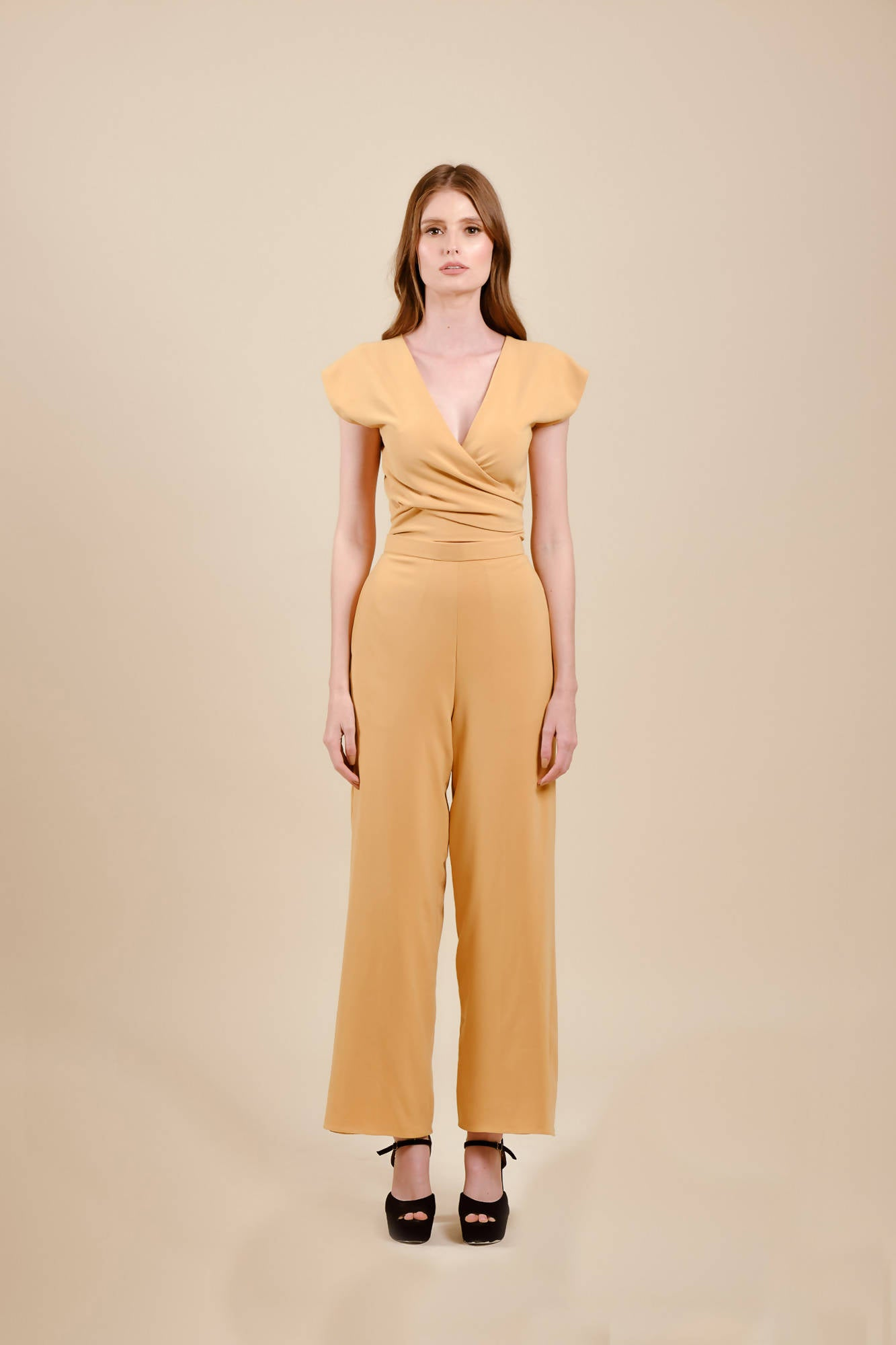 Rorie Pants in Mustard