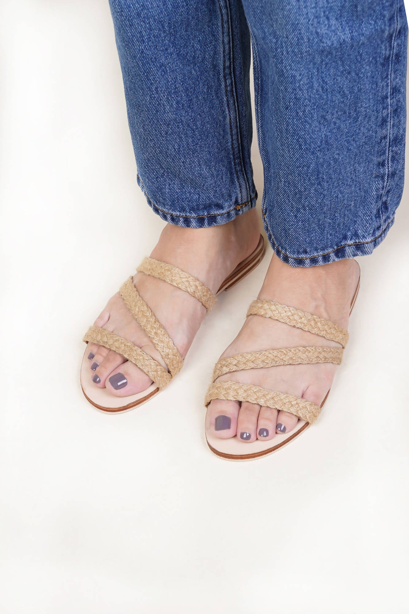 Ava Sandal in Natural