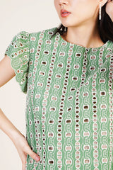 Cellia Top in Green