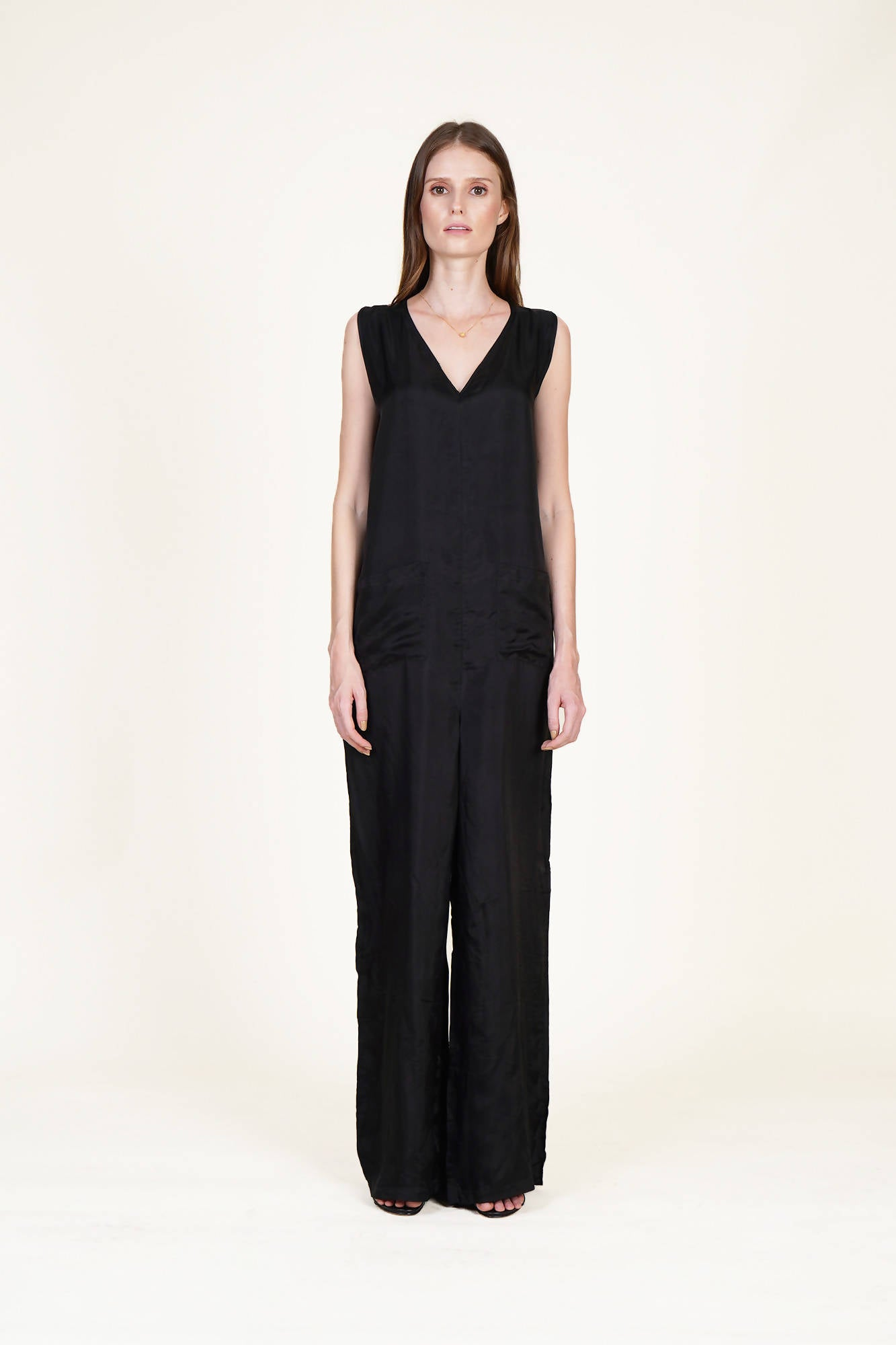 Fits All Jumpsuit in Black