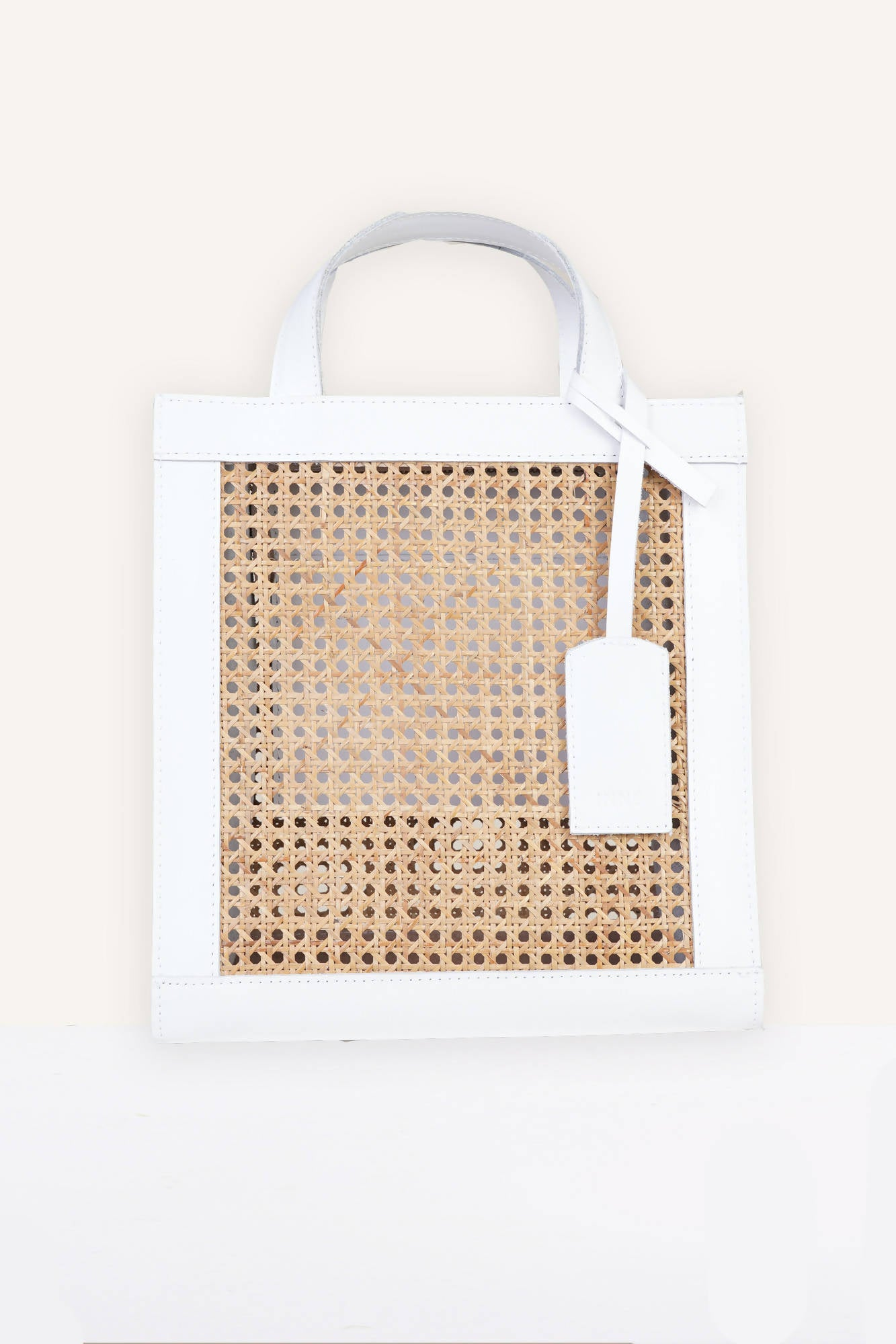 Sia Two-Way Tote in White
