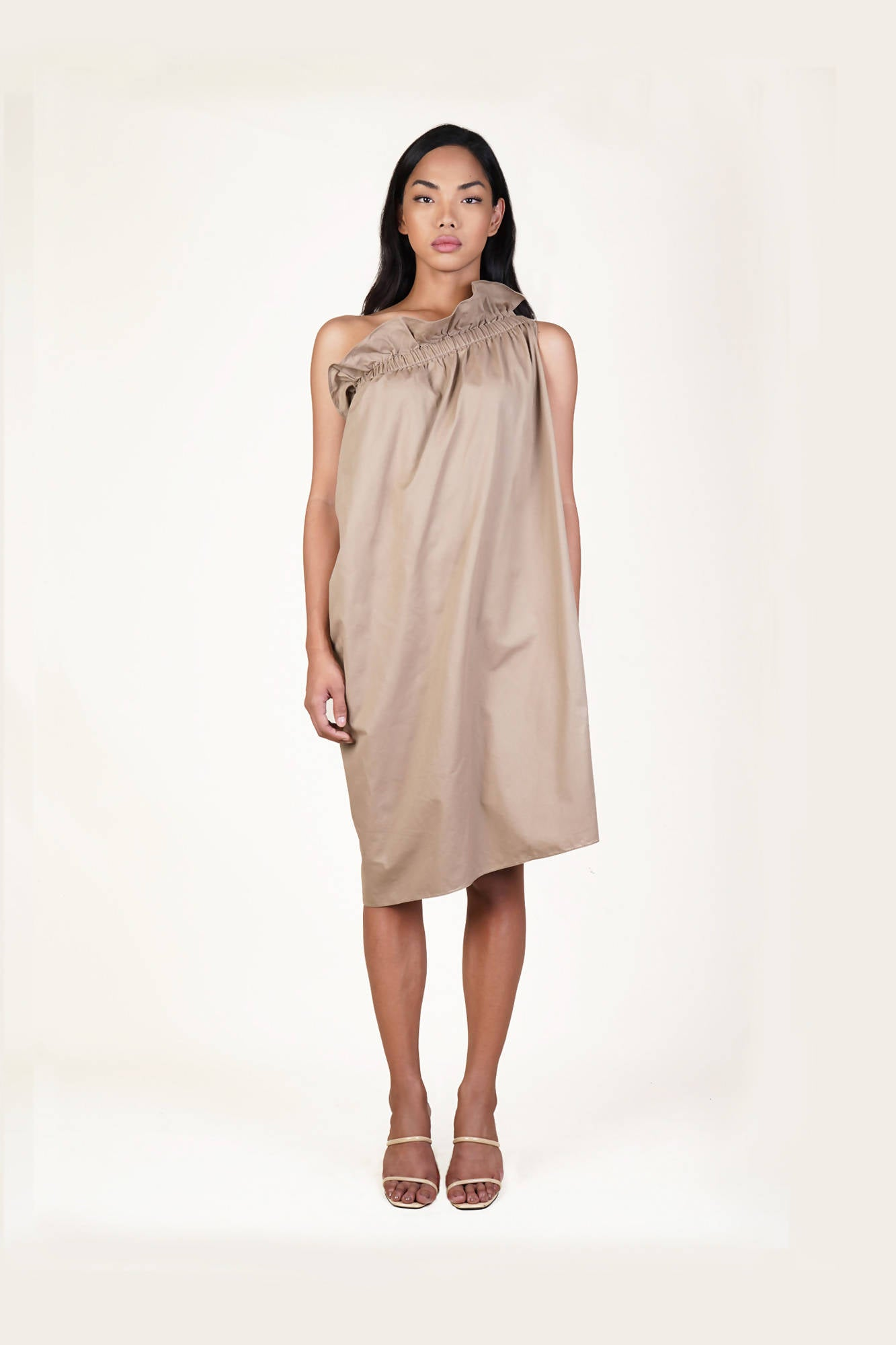 Gardena Dress in Khaki