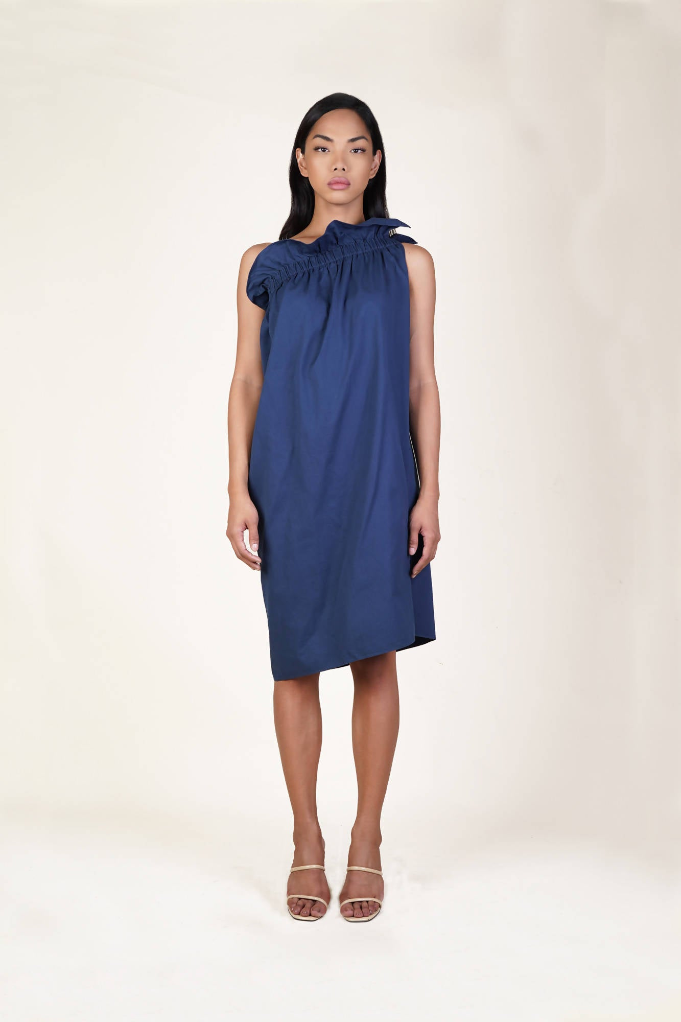 Gardena Dress in Navy