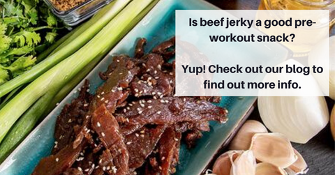 is beef jerky a good pre workout snack