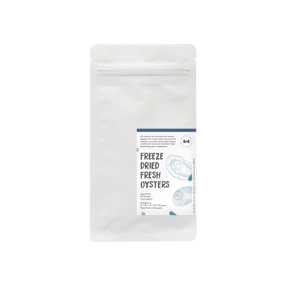 Freeze Dried Fresh Oysters