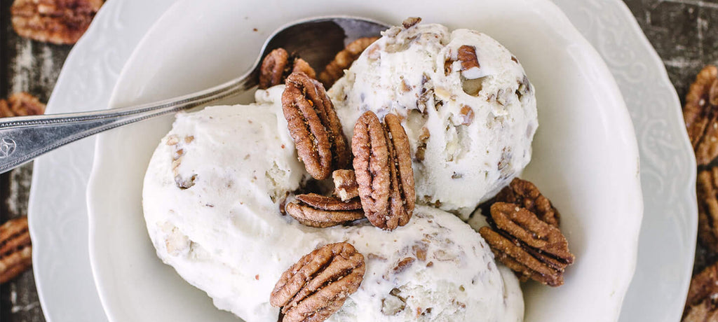 Killer Pecans Vanilla Bean Ice Cream