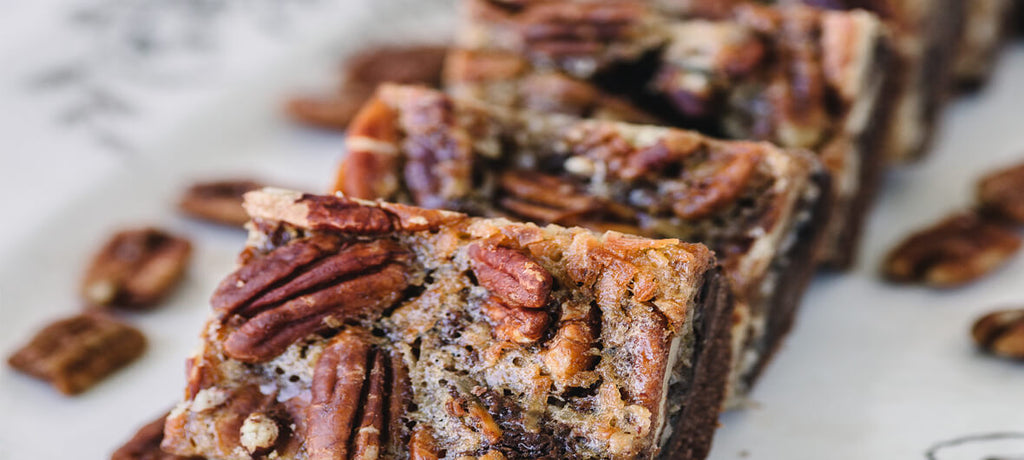 German Chocolate Killer Pecans Pie Bars