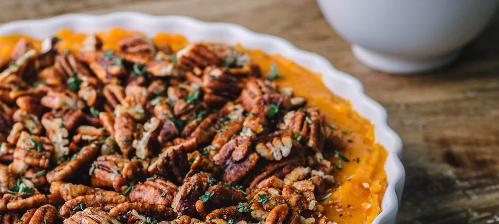 Smokin' Pecans Sweet Potato Mash
