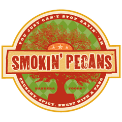 Killer Pecans Flavored Smokin' Pecans Logo
