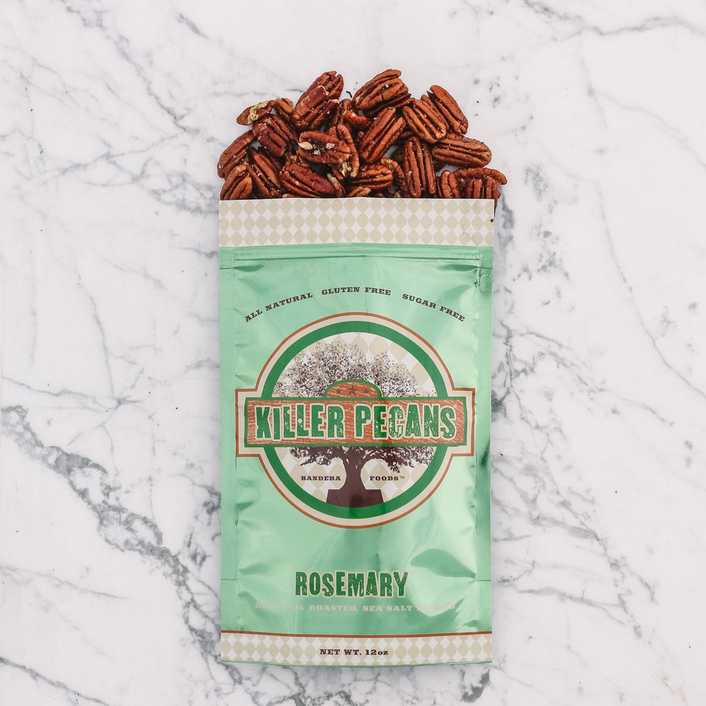 Rosemary Pecans 12 oz bag