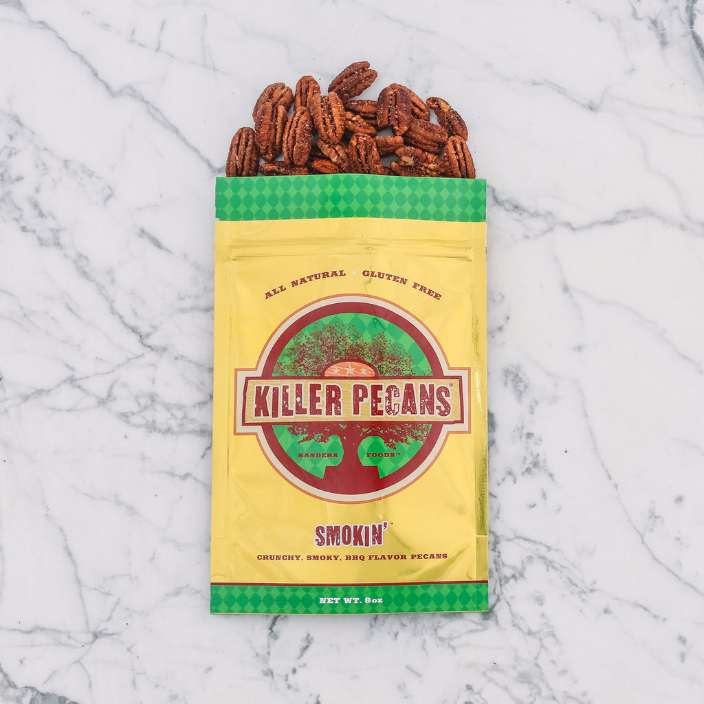 Smokin' Pecans 8 oz Bag