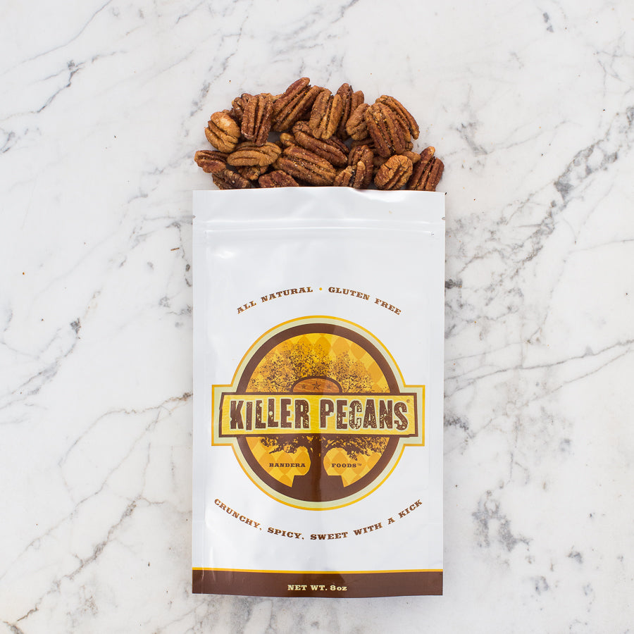 Killer Pecans 8 oz Bag