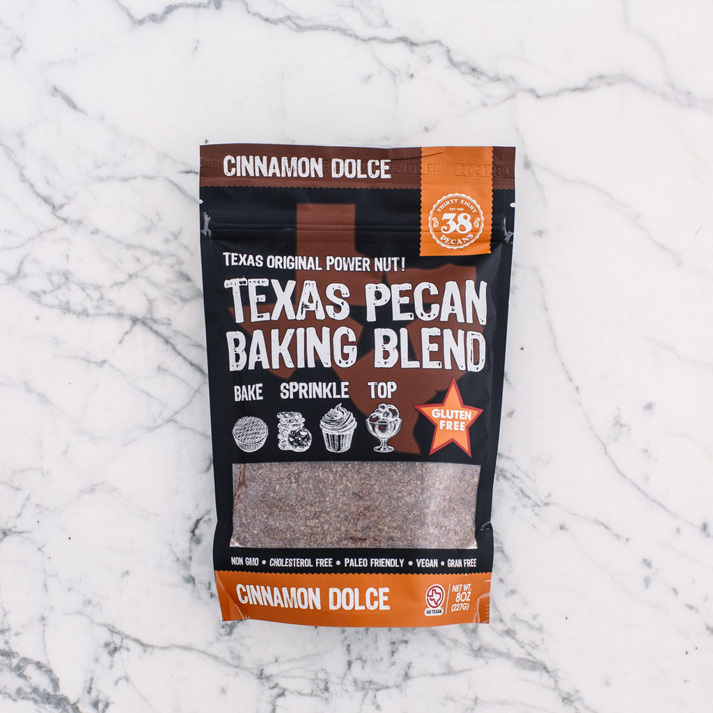 Cinnamon Dolce Texas Pecan Meal 8 oz bag