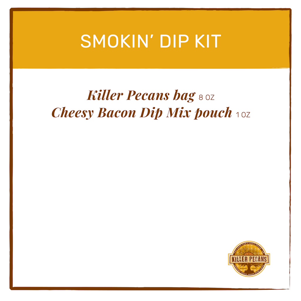 Smokin' Pecan & Cheesy Bacon Dip Kit