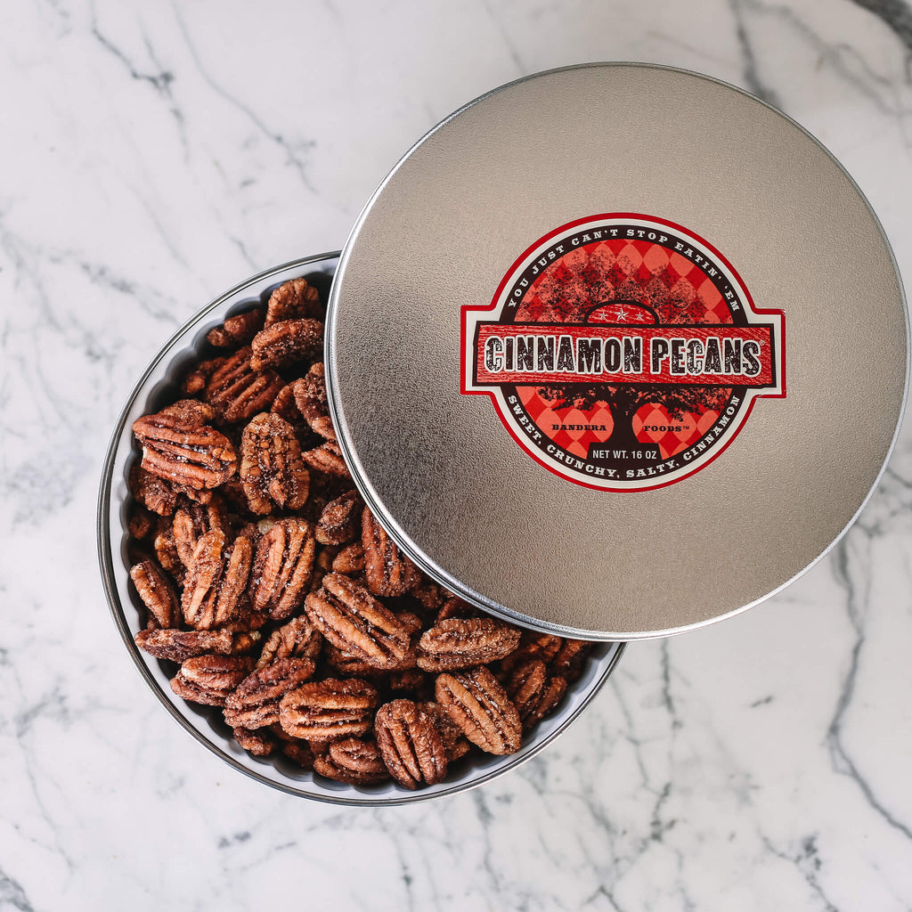 Cinnamon Pecans 16 oz Tin