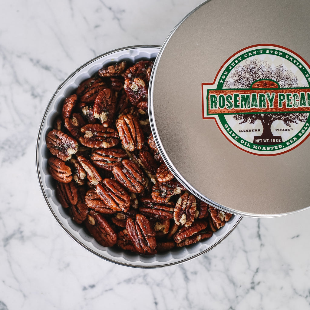 Killer Pecans Rosemary Tin 16oz