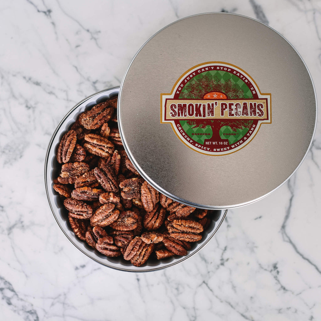 Smokin' Pecans 16 oz Tin